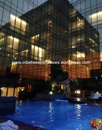 hyatt hotel manila - pool area 5
