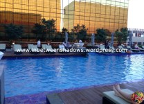 hyatt hotel - pool area 3